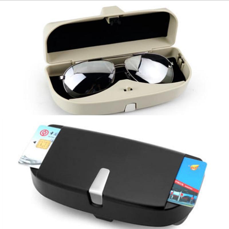 Coche Universal estilo de caso de gafas de sol caja para Chevrolet Cruze Trax Aveo Lova navegar Epica Captiva de Camaro cobalto
