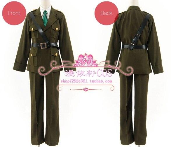 APH Axis Powers, Hetalia, Reino Unido, disfraz de Cosplay, uniforme