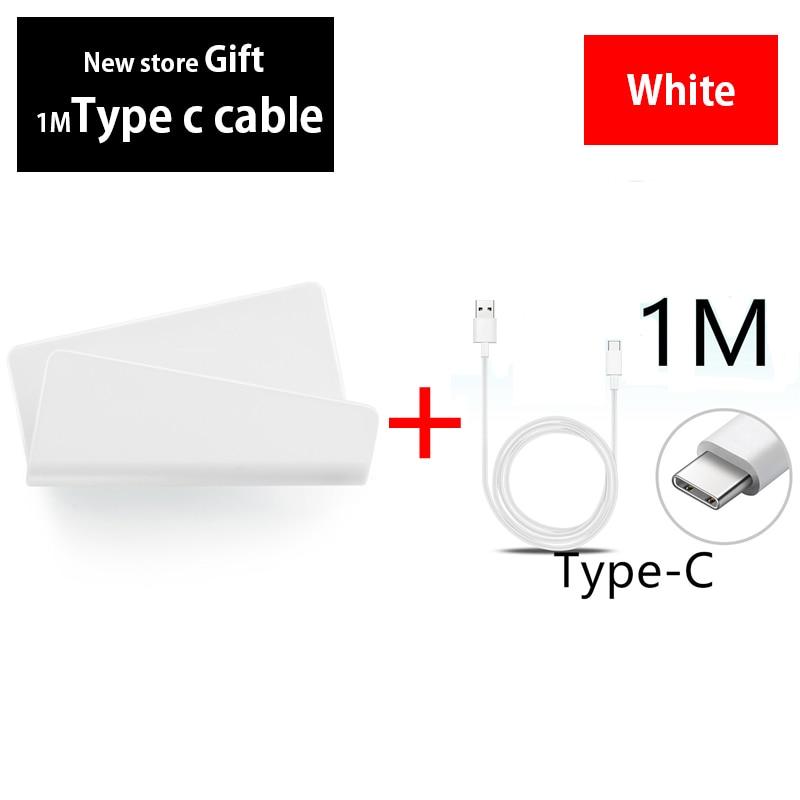 Tipo C cargador de cable de Pared Soporte de teléfono para Samsung Galaxy S10 Lite S9 S8 más S10e A50 móvil adhesivo soporte montaje
