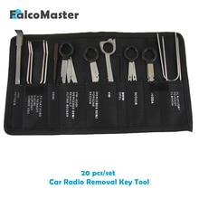 20 Pieces/kits Professional Automotive Interior Audio Stereo Car CD Player Radio Removal Keys Tool S