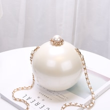 2020 mode Design perle balle fête soirée sacs femme sacs à main Global sphérique acrylique étui rigide épaule petit sac à bandoulière