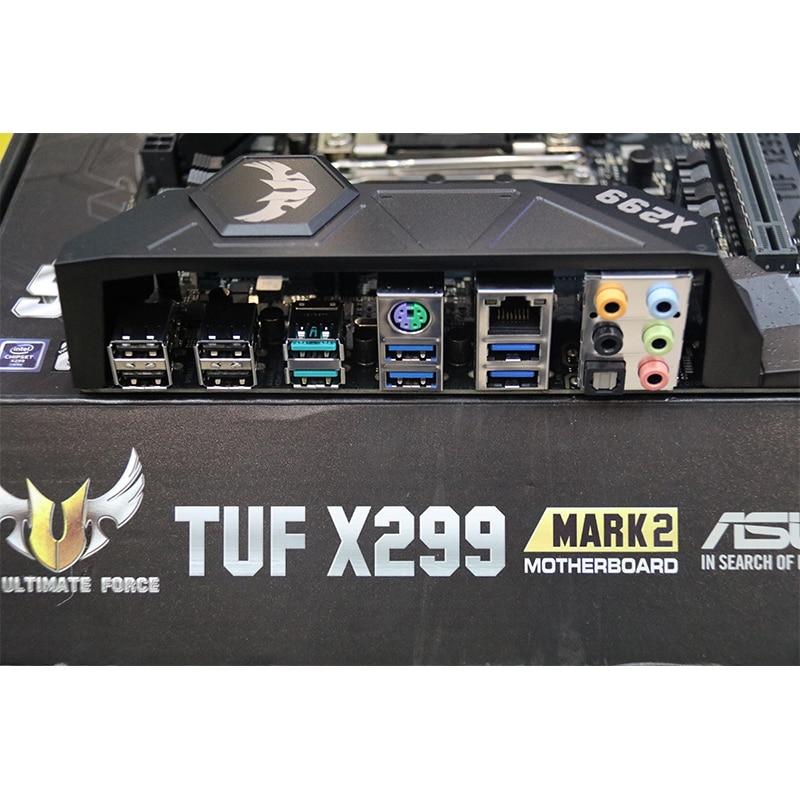 Asus TUF X299 MARK 2 X299 LGA 2066 DDR4 Dual M.2 USB 3,1 placa base de escritorio nuevo original
