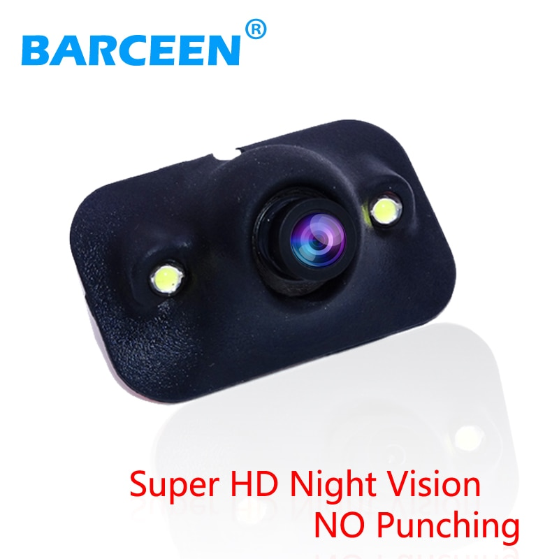 CCD HD night vision car camera front/side /left/right /rear view 360 degree Rotation universal rear free ship