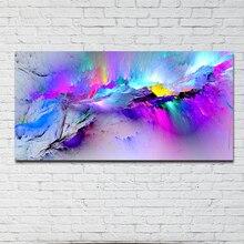Décor en toile Art de GOODECOR   Peinture à lhuile imprimée, tableaux muraux pour salon, nuages abstraits inréels, Art mural, sans cadre
