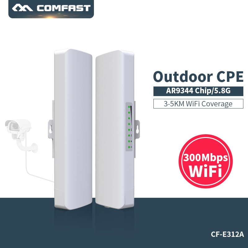 comfast cf wr635ac 750mbps 2 4g 5 0ghz smart wireless wifi router wi fi repeater external 6 6dbi antenna seamless wireless route Comfast 300Mbps 5G wireless Outdoor Wifi Long range cpe 2*14dbi Antenna wi fi repeater router Access point bridge AP CF-E312A V2