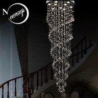 Retro loft chandelier Europe crystal lamp with GU10 9 lights modern art deco for bedroom parlor hotel restaurant lobby office