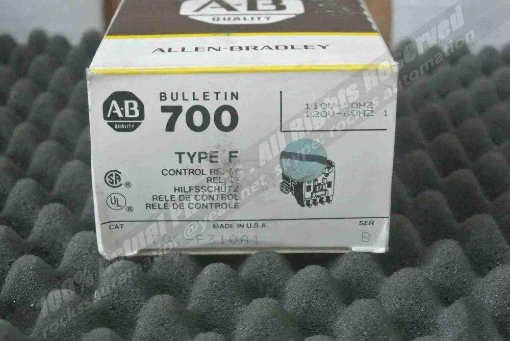 نشرة 700 من النوع F ، مرحل التحكم 700-F310A1 SER:B ، مع DHL مجاني