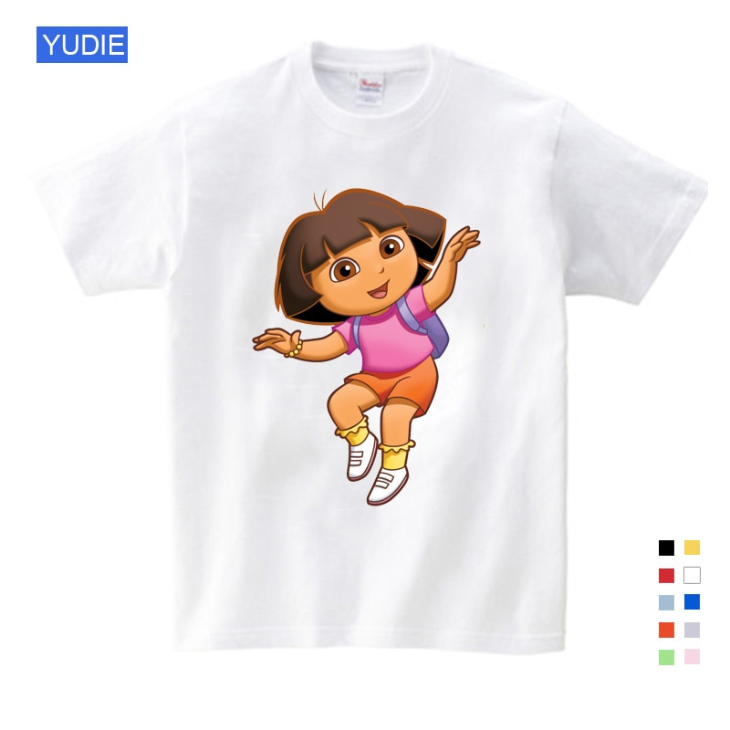 t shirt for girls kids Boys Cotton Baby Kids Pure Cotton Summer Clothing Funny T Shirts Kids White Comfort Toddler baby T-Shirts