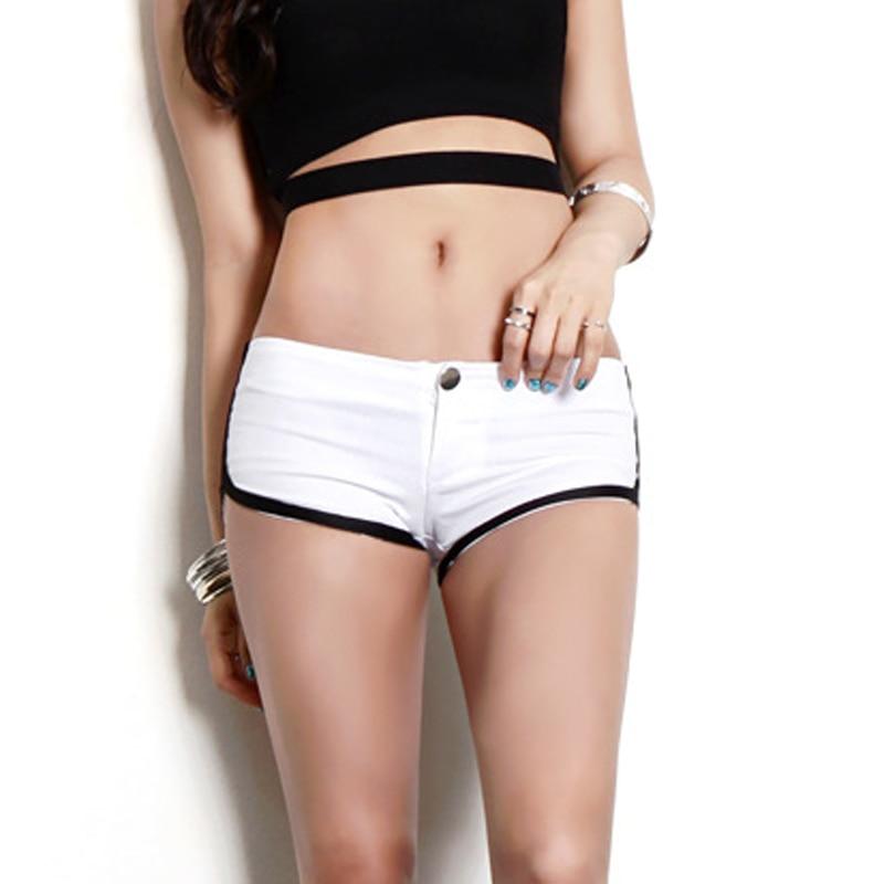 Sexy Low Rise Waist Hot Shorts Sexy Denim Booty Jeans Shorts Vintage Cute Micro Mini Short Club Dance Wear FX31