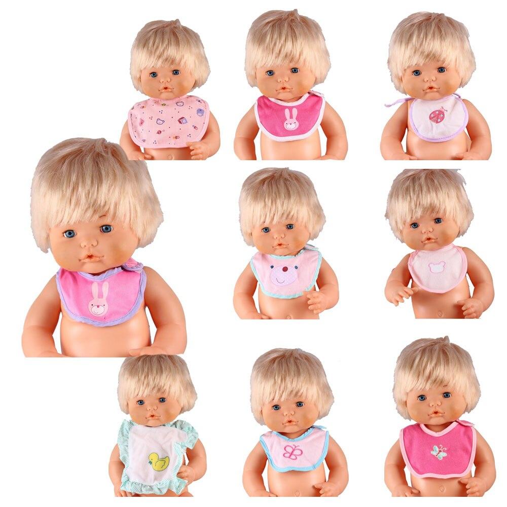 Accesorios de muñeca Nenuco de 16 pulgadas varios Baberos de muñeca delantal de muñeca de animales Accesorios Nenuco para muñeca Nenuco de 41CM