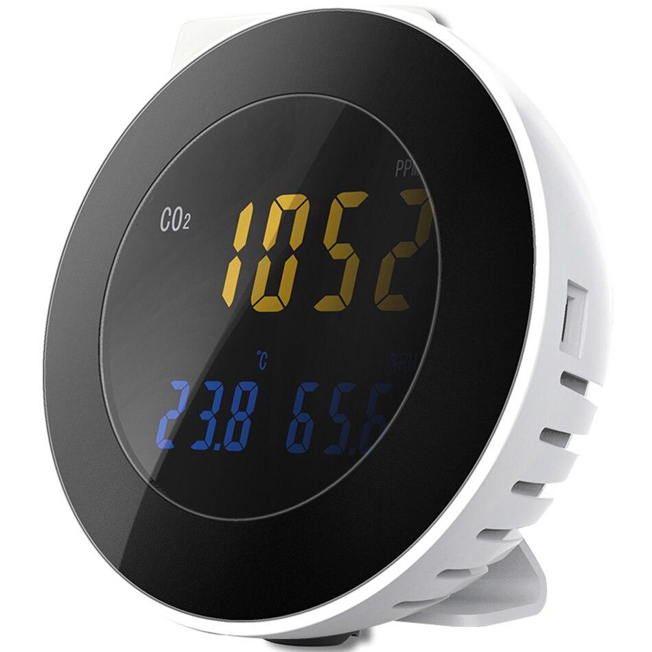 HT-501 medidor de Co2 3 en 1, higrómetro de temperatura, analizador Digital portátil de Detector de fugas de Gas, probador de Monitor