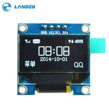 0.96 pouces IIC série blanc OLED Module daffichage 128X64 I2C SSD1306 12864 LCD écran panneau GND VCC SCL SDA 0.96