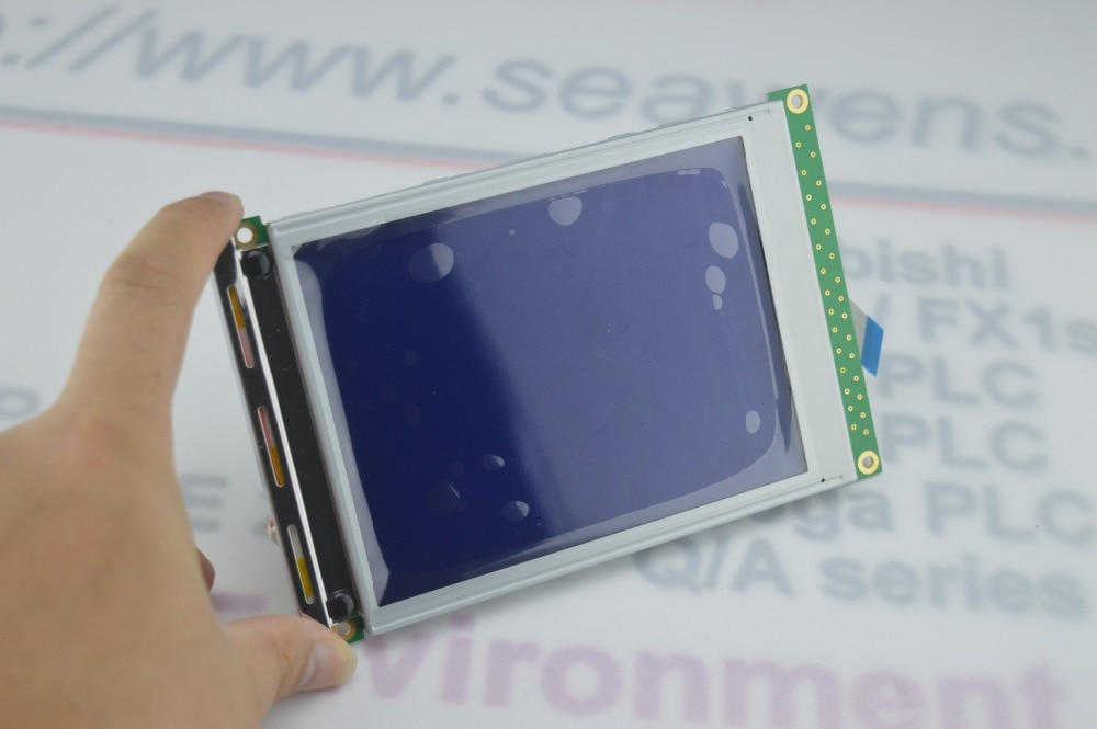 SX14Q009 5.7 بوصة lcd شاشة العرض إصلاح أجزاء لوحة hmi ، جديد و دينا في المخزون