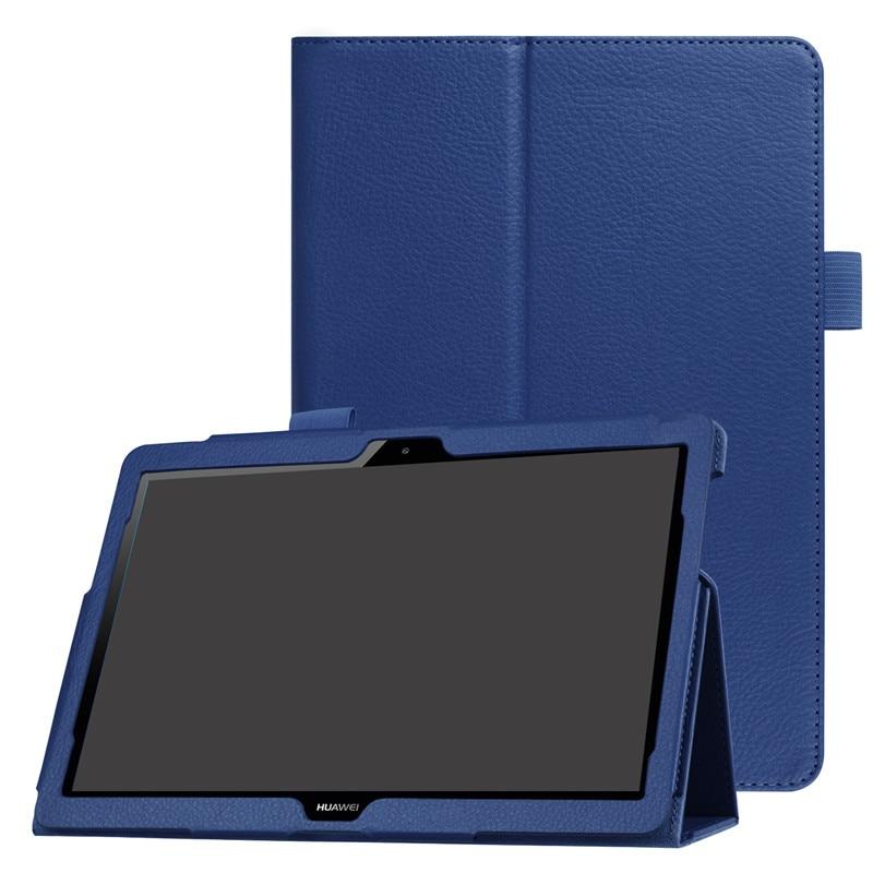 """חכם מקרה עבור Huawei MediaPad T5 10 Tablet כיסוי Stand Flip עור מפוצל עבור Huawei Mediapad T5 10.1 """"AGS2-W09/l09/מגן כיסוי"""