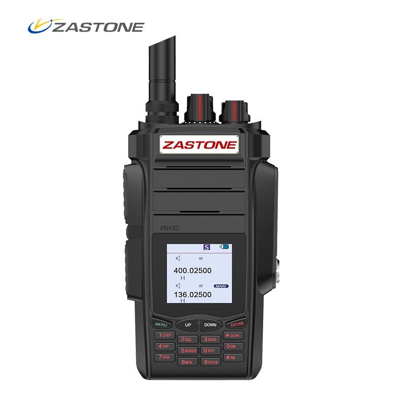 Zastone A19 10W Walkie Talkie high-powe Dual display Two Way radio  VHF&UHF Handheld For Hunting Ham FM Transceiver