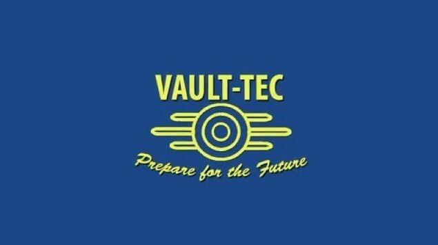 3x5FT Tec Vault Fallout jogo de poliéster bandeira bandeira 100D frete grátis