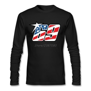Casual Nicky Hayden T Shirt Swag T Shirt Men Cotton Crewneck Long Sleeve Custom  Funny T-shirts