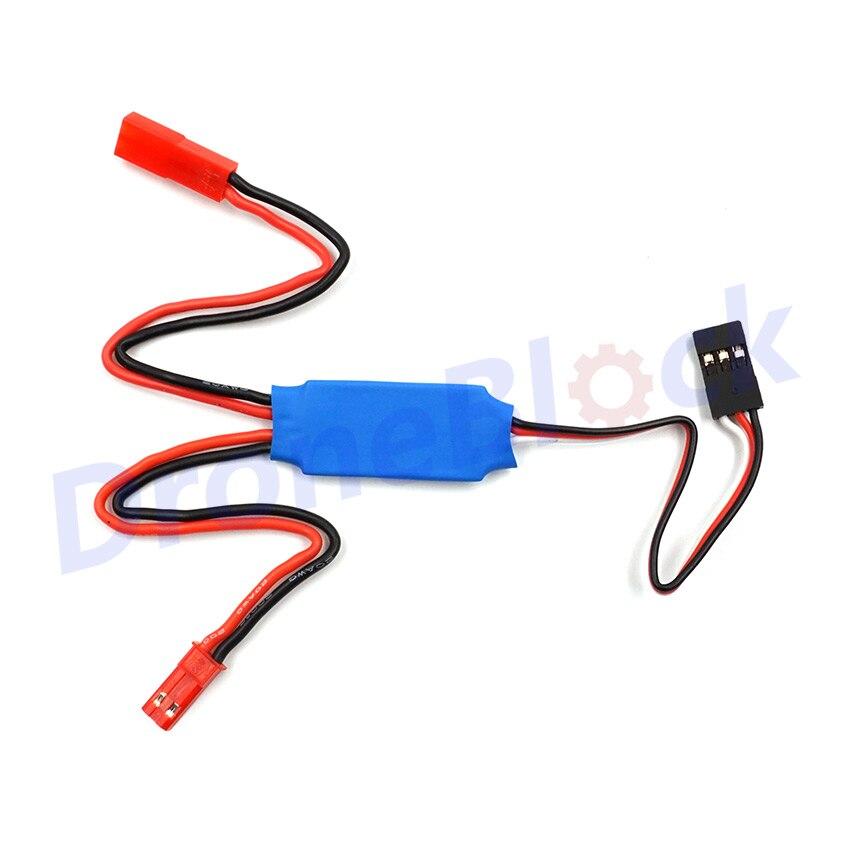 Rc tx controlado interruptor de relé pwm receptor led controle spray interruptor