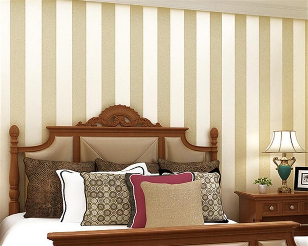 Papel de pared de beibehang contratado y contemporáneo papel tapiz de raya ancha sala de estar 3d TV Pared de dormitorio papel tapiz 3d