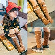 1 Pair Cotton Animal Baby Girl Boy Knee High Socks Cute Cat Fox newborns infant Warm Long Sock