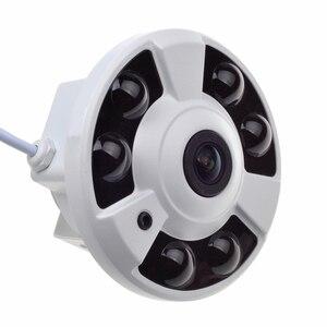 Mini Fisheye Security Camera 1080P 180 Degree Lens Night Vision Video Surveillance AHD CCTV Camera