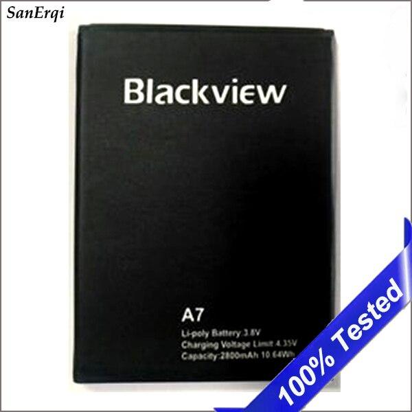 Para Blackview A7 batería 2800mAh para Blackview A7 pro Batterie Bateria SanErqi