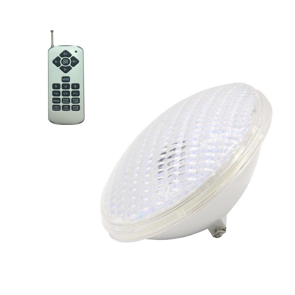 Светодиодный прожектор, светильник для бассейна, светильник RGB Fontain, светильник s 36W 12V PAR56, лампа IP 68, лампа для плавания, несколько цветов, с пу...