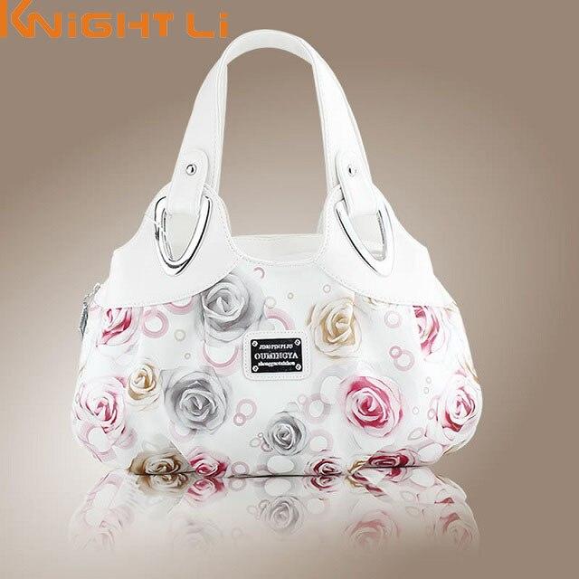 2019 chaud mode coréenne sac à main belle femmes PU en cuir sac fourre-tout impression sacs à main beaucoup de style sacoche goutte en gros MM5