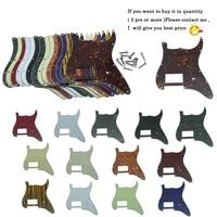 dopro st strat one humbucker guitar pickguard scratch plate fits for fender delonge for stratocaster various colors