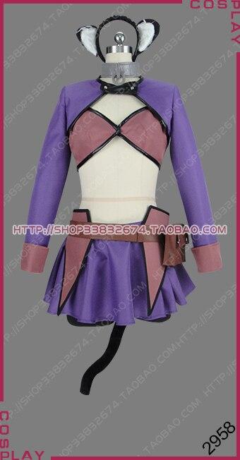 Como não convocar um demônio senhor isekai maou para shoukan shoujo não dorei majutsu rem galleu vestido cosplay traje s002