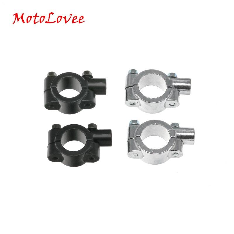 """MotoLovee motocicleta 7/8 """"22mm manillar espejo soporte espejo Adaptador 8mm/10mm hilo"""