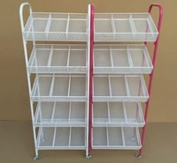 small boutique shelves wrought iron nail polish shelf four layers trolley umbrella stand