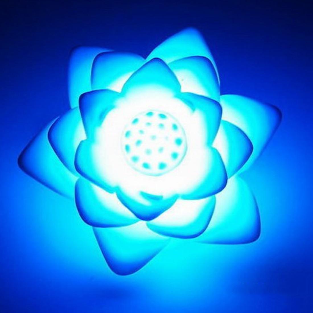 Lámpara de noche LED romántica Rosa flor luz de noche Color cambiado lámpara LED luces de noche diseño Interior