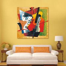 Peinture à lhuile, Picasso abstrait, bricolage   Peinture à lhuile, bricolage, instrument de peinture numérique, coloriage par numéros, guitare