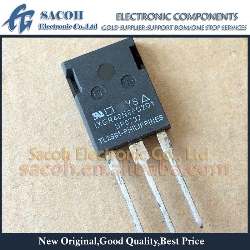 Бесплатная доставка 10 шт. IXGR40N60C2D1 IXGR40N60C2 IXGR40N60B2D1 IXGR40N60B2 IXGR40N60 ISOPLUS247 40A 600В силовой транзистор IGBT