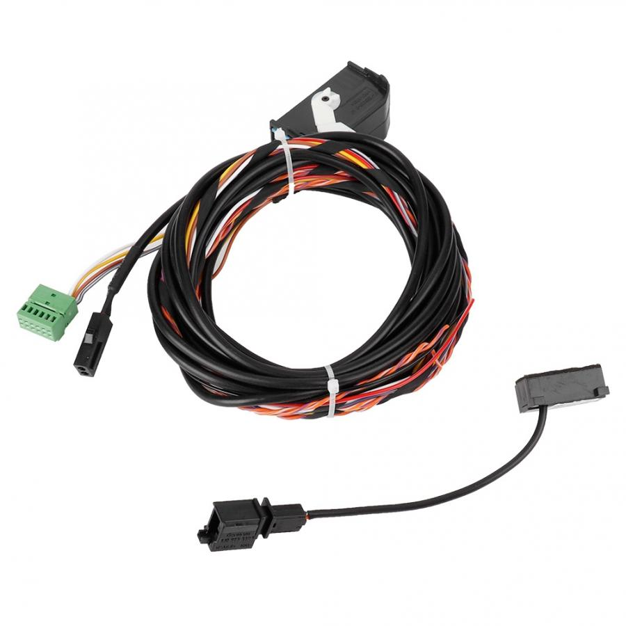 Bluetooth arnés de cableado Cable de micrófono Kit de para RCD510 RNS510 GOLF 8X0035447A micrófono Bluetooth arnés