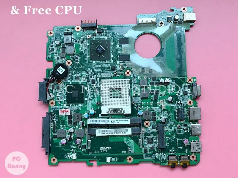 Материнская плата NOKOTION для ноутбука Acer Aspire 4738 4738G 4738ZG материнская плата MB. Nbr06002 MBNBR06002 hm55 512M графическая карта