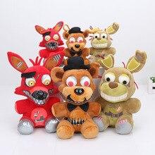 25 cm 15 cm cinq nuits à Freddy jouet FNAF Foxy bonnie Springtrap Freddy cauchemar poupée jouets en peluche
