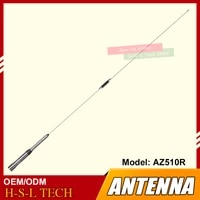 wireless outdoor am fm radio receiver antenna high gain antenna dual band 144430mhz frequency for mobile car walkie talkie