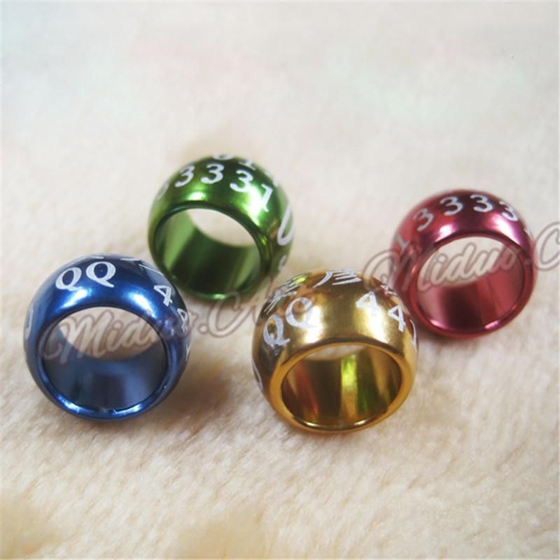 Круглые Алюминиевые кольца для крыльев птиц, 8, 10 мм, Алюминиевые кольца с надписями, опт