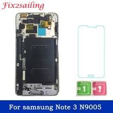 LCD Per samsung Nota 3 N9005 note3 n900 n9000 Display LCD + Touch Screen Digitizer Assembly con telaio con il regalo trasporto Libero