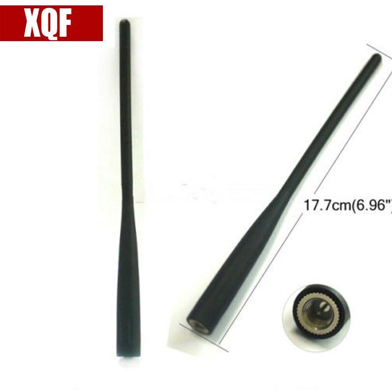 XQF 144/440 MHz de banda Dual portátil antena para ICOM Radio IC-91AD IC-92AD IC-R2 Radio de dos vías