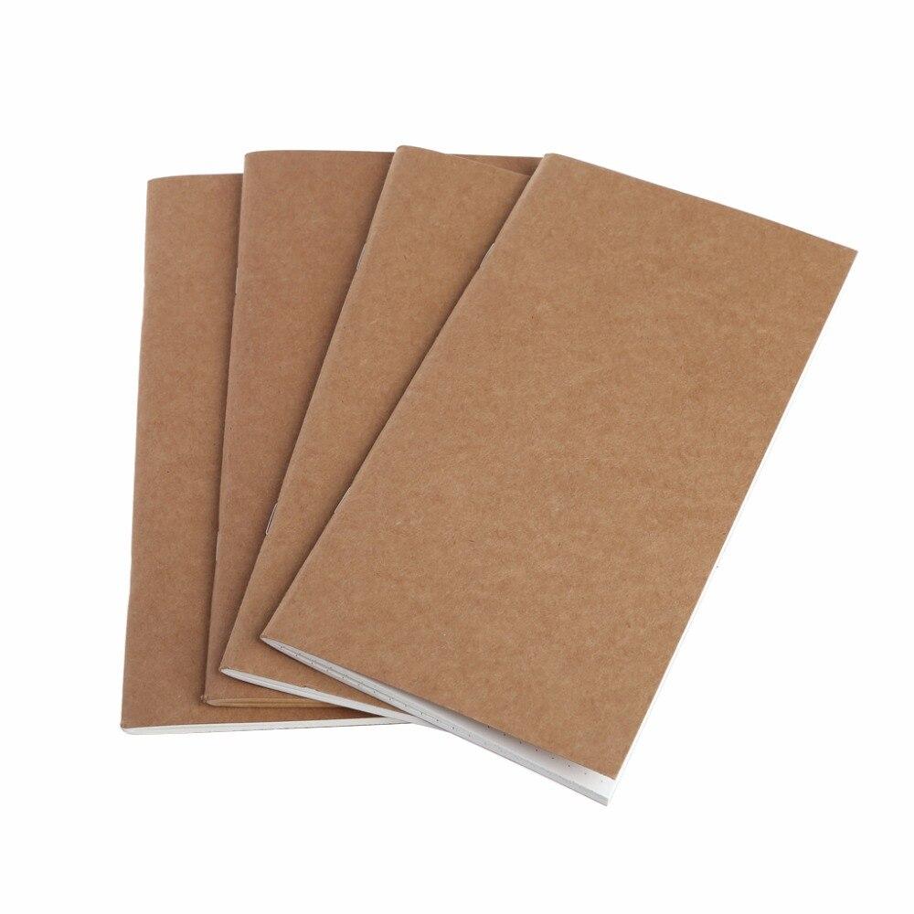 Papier Kraft cahier compte livre point Journal Journal mémo Page vierge papeterie