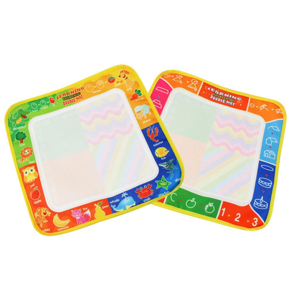 Pizarra Popular para niños, dibujo para pintar, bolígrafo mágico, tapete para escribir y dibujar con agua, regalo educativo
