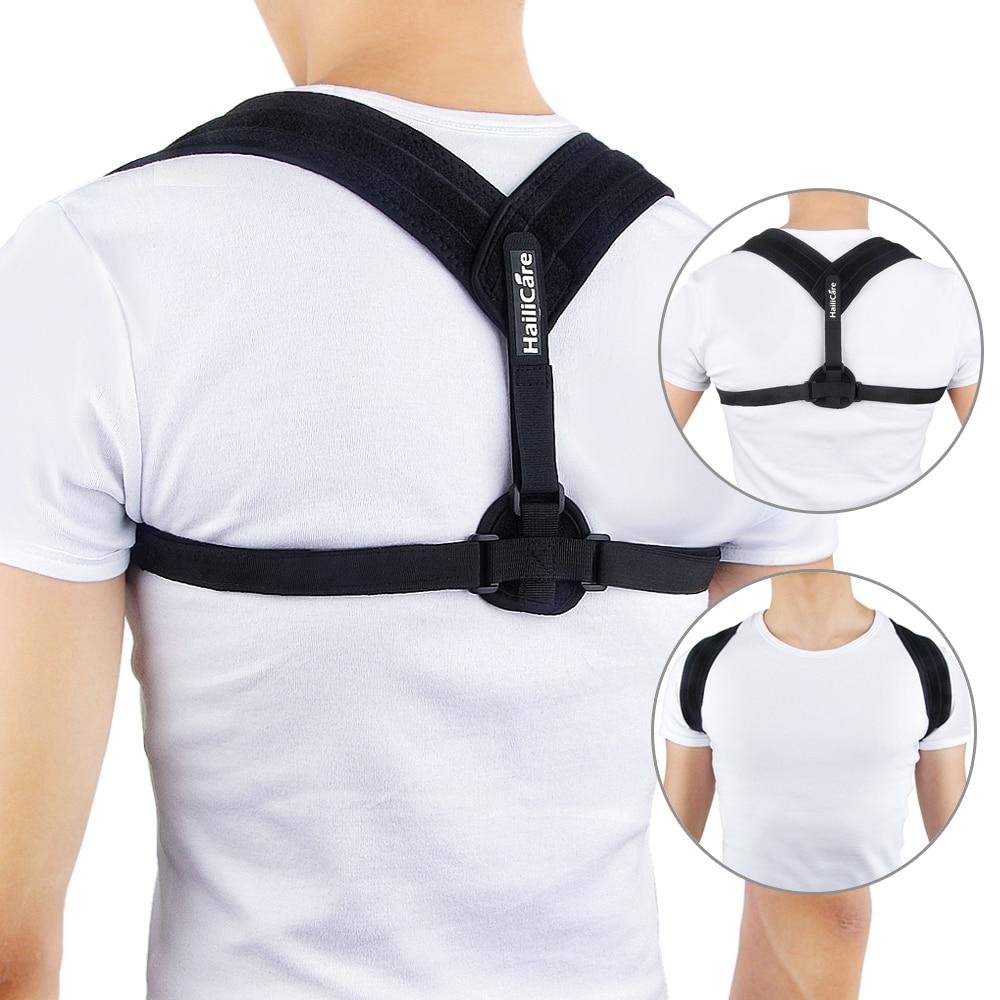 Sırt postür düzeltici ayarlanabilir klavikula Brace rahat doğru omuz postür destek askı klavikula düzeltme kemer