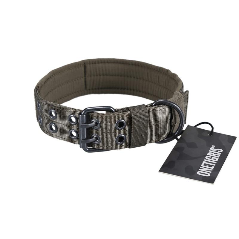OneTigris militaire tactique collier de chien de compagnie Camouflage chasse Airsoft Paintball équipement dentraînement réglable collier de chien