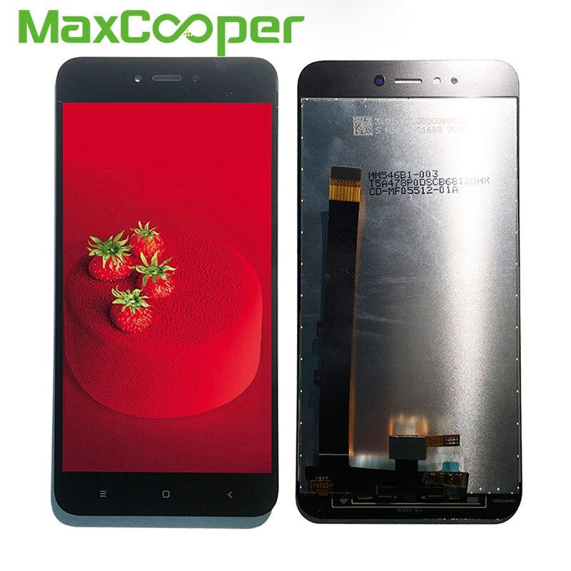 "De calidad superior 5,5 ""para Xiaomi Redmi Note 5A pantalla LCD y montaje de digitalizador con pantalla táctil para reemplazo"