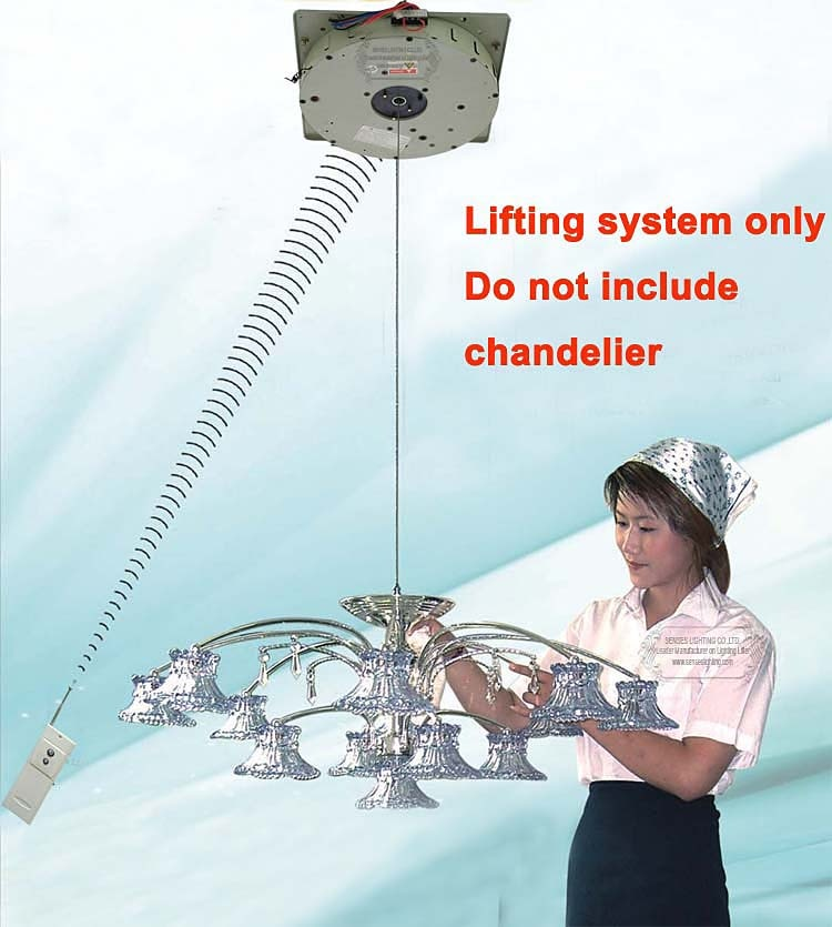 Polipasto de control remoto DDJ100-5M para lámpara de araña de cristal