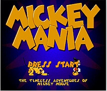 Mickey Mania  Game Cartridge Newest 16 bit Game Card For Sega Mega Drive / Genesis System