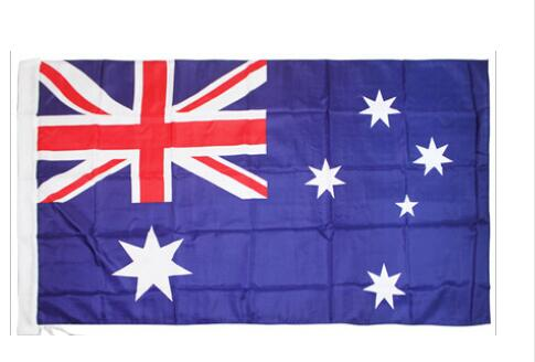 Australian Banner 3ft x 5ft Hanging Flag Polyester Australia National Flag Banner Outdoor Indoor 150x90cm for Celebration